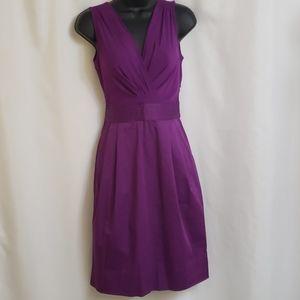 DKNYC Purple sleeveless sheath dress NWOT